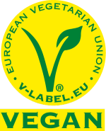 Vegan friendly - V label